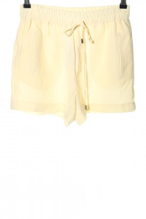 Zara Woman Shorts blassgelb Casual-Look