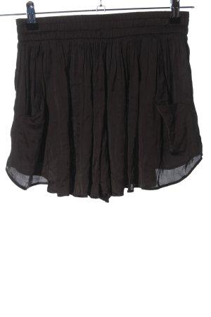 Zara Woman Shorts hellgrau Casual-Look