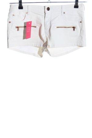 Zara Woman Shorts weiß Casual-Look