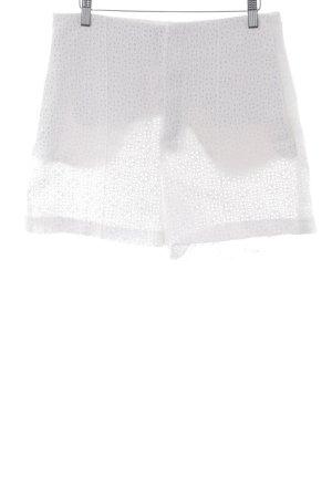 Zara Woman Shorts wollweiß schlichter Stil