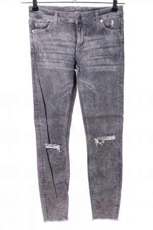 Zara Woman Skinny Jeans light grey casual look