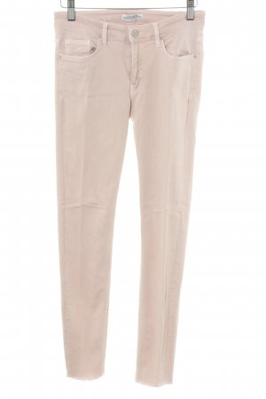 Zara Woman Skinny Jeans altrosa Street-Fashion-Look