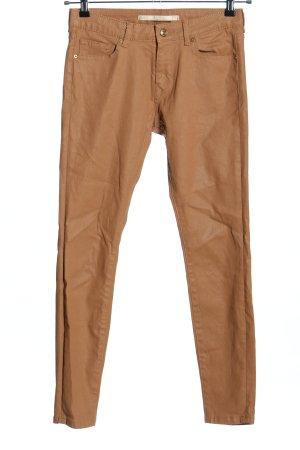Zara Woman Skinny Jeans braun Casual-Look