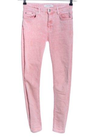 Zara Woman Skinny Jeans pink Casual-Look