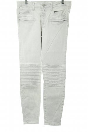 Zara Woman Skinny Jeans hellgrau Street-Fashion-Look