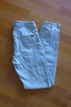 Zara Woman Skinny Jeans Röhre Jeggings Treggings mint hellgrün Gr. 36