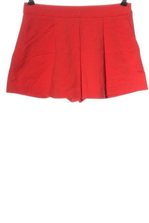 Zara Woman Skort rouge style décontracté