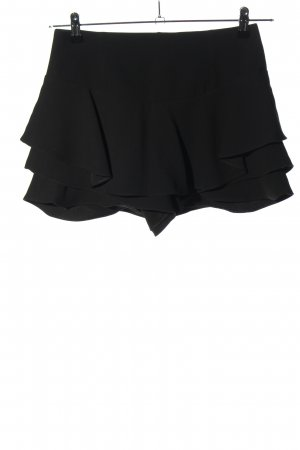 Zara Woman Skorts schwarz Casual-Look