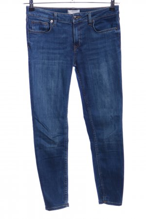 Zara Woman Slim Jeans blue casual look
