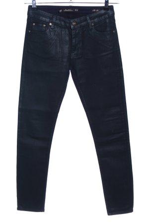 Zara Woman Slim Jeans schwarz Casual-Look