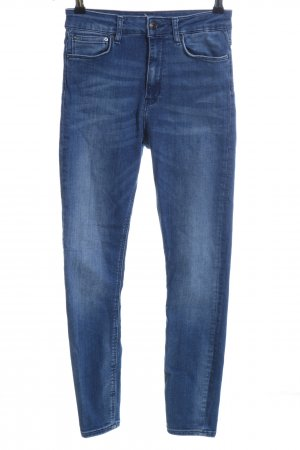 Zara Woman Slim Jeans blau Casual-Look