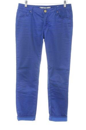Zara Woman Slim Jeans blau Casual-Look