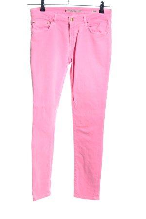 Zara Woman Slim Jeans pink Casual-Look