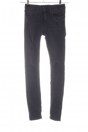 Zara Woman Slim Jeans schwarz Casual-Look