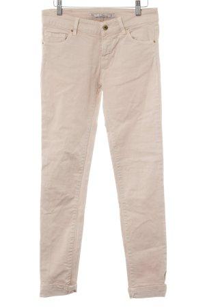 Zara Woman Slim Jeans rosa Casual-Look