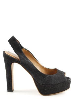 Zara Woman Décolleté modello chanel nero elegante