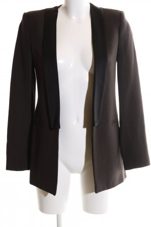 Zara Woman Smoking-Blazer braun Business-Look