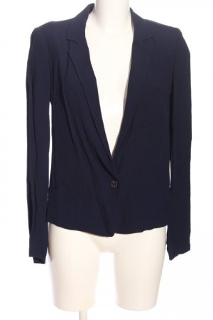 Zara Woman Smoking-Blazer blau Business-Look