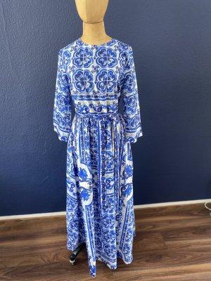 Zara Woman Sommer Maxi Kleid Gr M