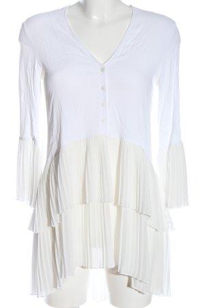 Zara Woman Sommerkleid weiß Casual-Look