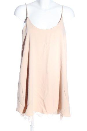 Zara Woman Spaghettiträger Top creme Casual-Look