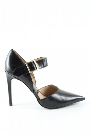 Zara Woman Spitz-Pumps schwarz Business-Look