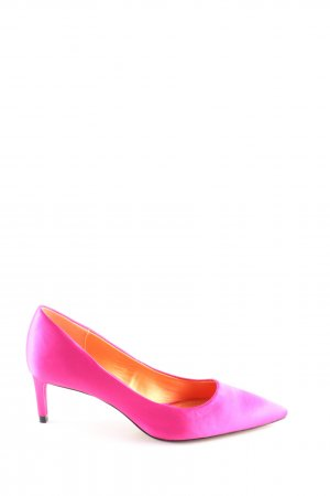 Zara Woman Spitz-Pumps pink Business-Look