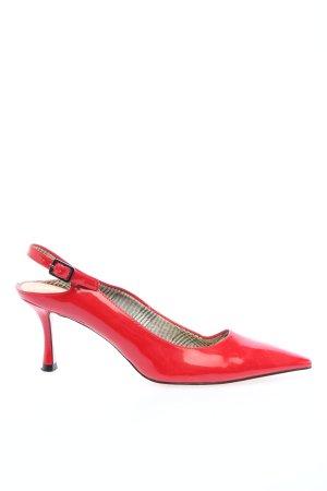 Zara Woman Spitz-Pumps rot Glanz-Optik