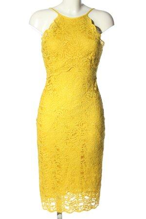 Zara Woman Lace Dress primrose elegant