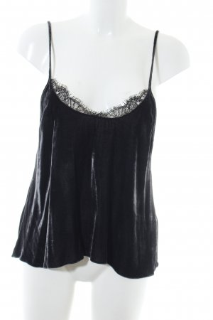 Zara Woman Lace Top black elegant