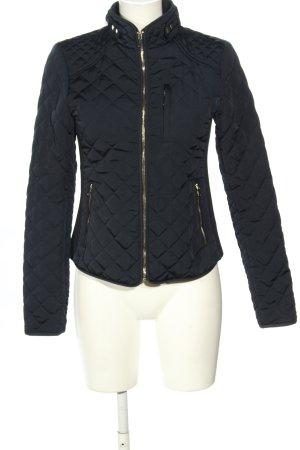 Zara Woman Steppjacke schwarz Steppmuster Casual-Look
