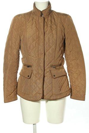Zara Woman Steppjacke braun Steppmuster Casual-Look