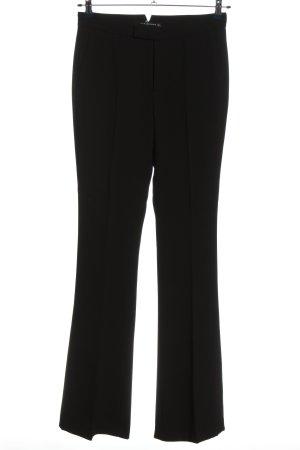 Zara Woman Stoffhose schwarz Business-Look