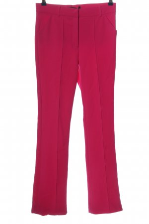 Zara Woman Stoffhose pink Business-Look