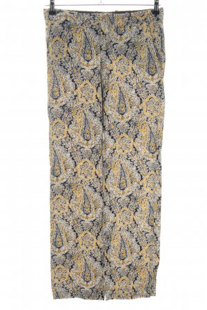 Zara Woman Stoffhose Mustermix Casual-Look