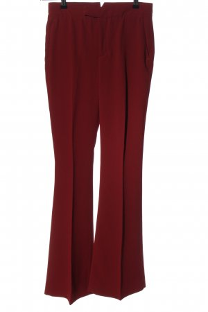 Zara Woman Stoffhose rot Business-Look