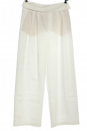 Zara Woman Stoffhose weiß Business-Look