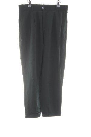 Zara Woman Stoffhose schwarz Casual-Look