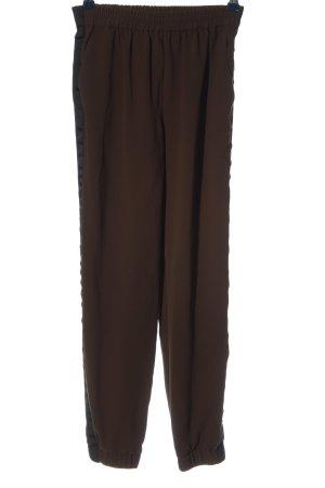 Zara Woman Stoffhose braun Casual-Look
