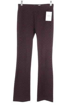 Zara Woman Stoffhose abstraktes Muster