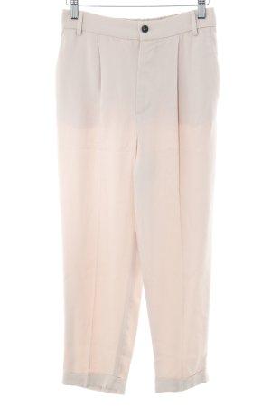 Zara Woman Stoffhose altrosa Casual-Look
