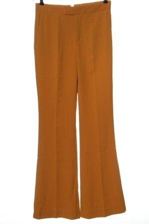 Zara Woman Stoffhose braun Elegant