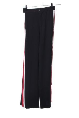 Zara Woman Stoffhose Streifenmuster Casual-Look