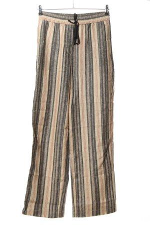 Zara Woman Stoffhose Allover-Druck Casual-Look