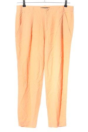 Zara Woman Stoffhose creme Casual-Look