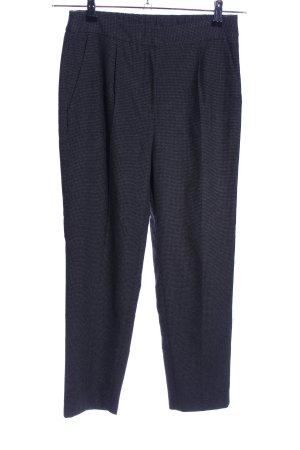Zara Woman Stoffhose blau meliert Business-Look