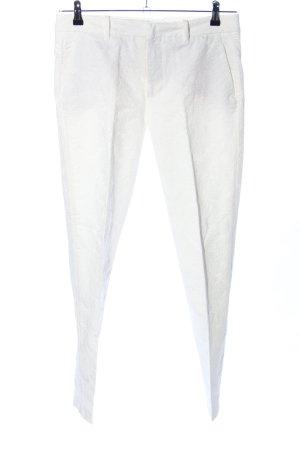 Zara Woman Stoffhose weiß Casual-Look