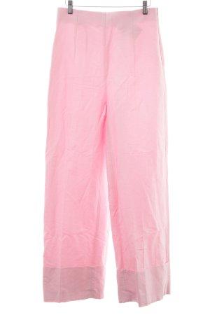 Zara Woman Stoffhose hellrosa 70ies-Stil