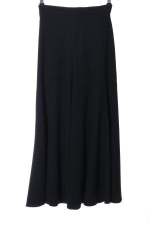 Zara Woman Stoffhose schwarz Elegant