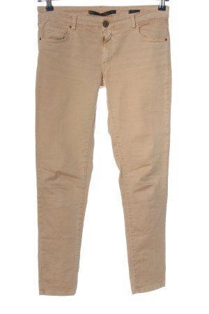 Zara Woman Jeansy z prostymi nogawkami brązowy W stylu casual